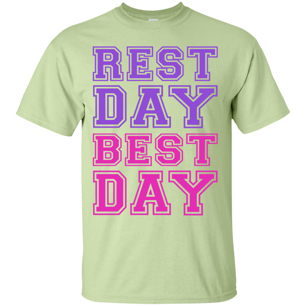 REST-DAY-BEST-DAY-Custom-Ultra-Cotton-T-Shirt-Sport-Grey-S-