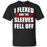 I-Flexed-And-The-Sleeves-Fell-Off-T-Shirt-Black-S-