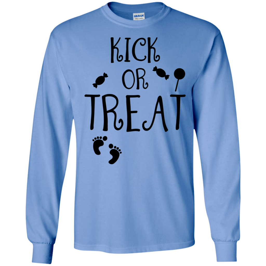 Kick-or-Treat,-Halloween-LS-T-Shirt-Sport-Grey-S-