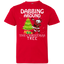Kids Shirt - Cute Dabbing Around The Christmas Tree Santa Swag Youth Jersey Tee
