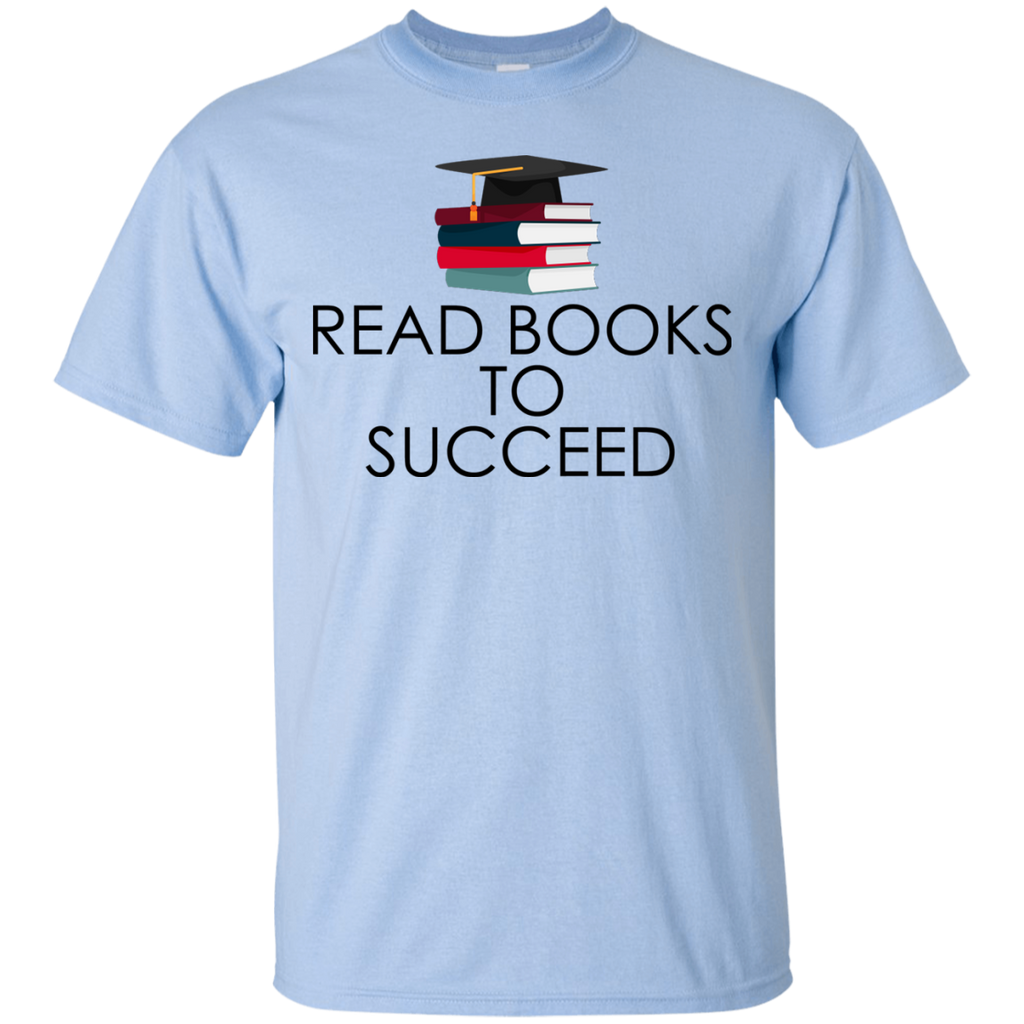 Read-books-to-succeed---reading-book---Men/Women-T-Shirt-Custom-Ultra-Cotton-T-Shirt-Sport-Grey-S