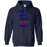 Do-you-even-vote-bro-Pullover-Hoodie-8-oz-Black-S-