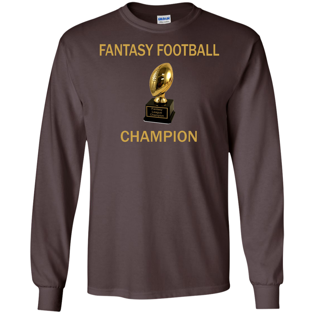 Fantasy-Football-Champion-FF-LS-Ultra-Cotton-Tshirt-Black-S-