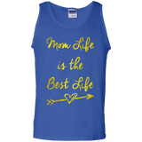 Mom-Life-is-the-best-life---Great-Mother's-and-Father's-Day-Tank-Top---Teeever.com-Black-S-