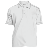 [TeeEver]-Contrast-Stitch-Performance-Polo---No-Prints-P-White-XS-