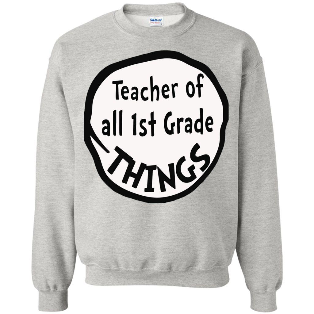 Teacher-of-all-1st-Grade-things---Long-Sleeve-LS,-Sweatshirt,-Hoodie-LS-Ultra-Cotton-Tshirt-Ash-S
