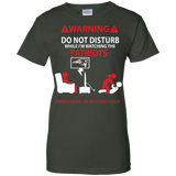 Don't-disturb-Patriots-fan---Men/Women-T-Shirt-Custom-Ultra-Cotton-T-Shirt-Black-S