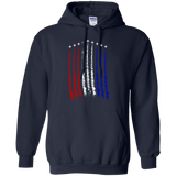 Red-White-Blue-Air-Force-Flyover-Pullover-Hoodie-Black-S-