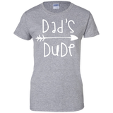 Did's-dude-Ladies-Custom-100%-Cotton-T-Shirt-Sport-Grey-XS-