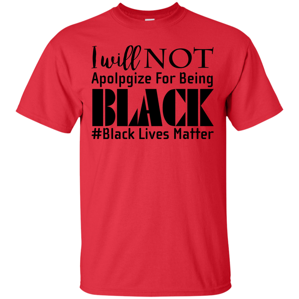 Black-Lives-Matter,-I-Will-NOT-Apologize-For-Being-Black-T-Shirt-Sport-Grey-S-