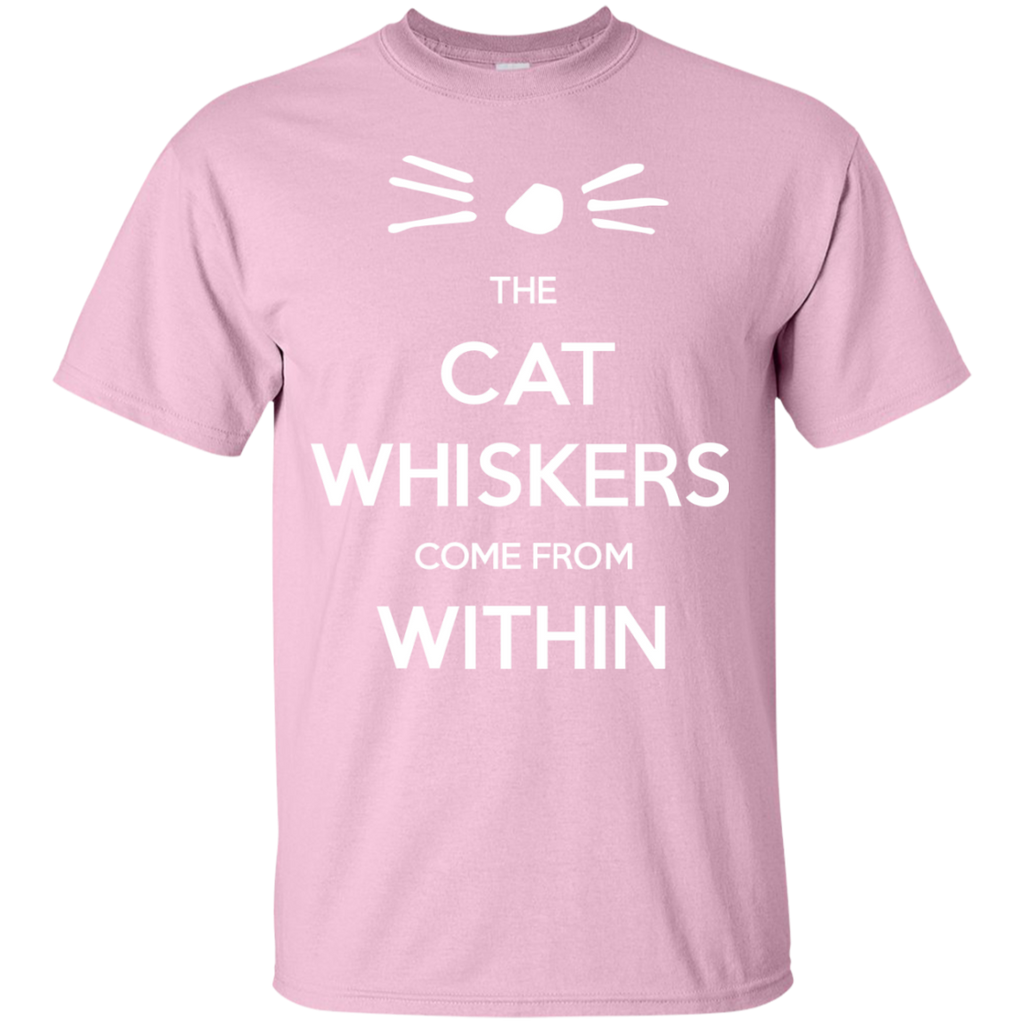 The-Cat-Whiskers-Come-From-Within---Dan-and-Phil-T-Shirt-Black-S-
