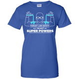 Science---Forget-Lab-Safety-I-Want-Super-Powers-Men/Women-T-shirt-Unisex-T-Shirt-Black-Small