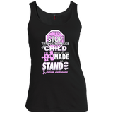 Snazzy-Shirts-Exclusive-Autism---Tank-top,-women's-tank-top-100%-Cotton-Tank-Top-Black-S