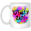 Totally Rad 80s Neon Paint Splash 1980s Party - Mug, Bottle - Teeever