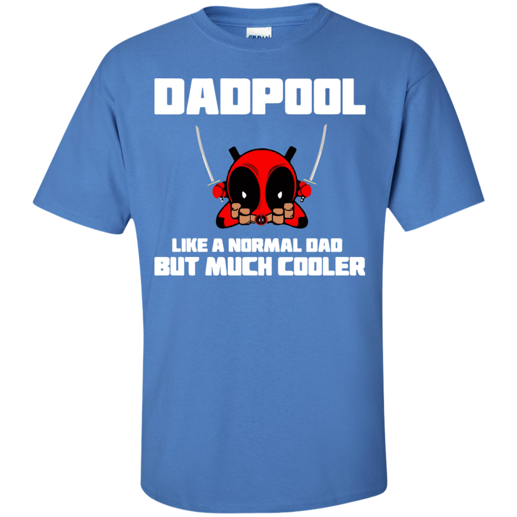 Dadpool-Like-a-normal-dad-but-much-cooler-T-Shirt-Ash-S-