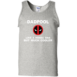 Dad-Pool-100%-Cotton-Tank-Top-Ash-S-