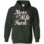 Women's-Mom-Wife-Nurse-Funny-Pullover-Hoodie---Teeever.com-Black-S-
