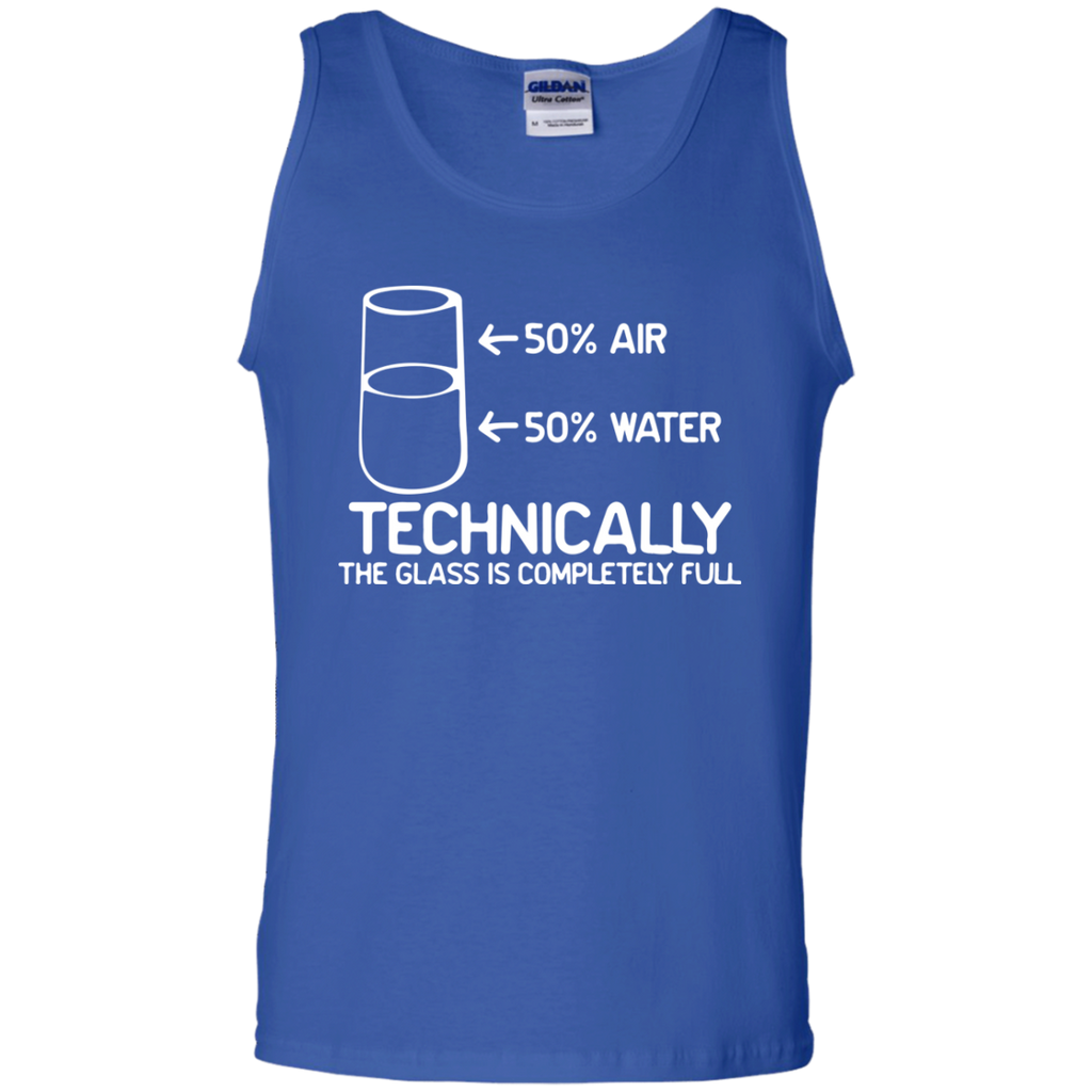 Technically-the-class-is-full-Tank-Top-Shirt-Sport-Grey-S-
