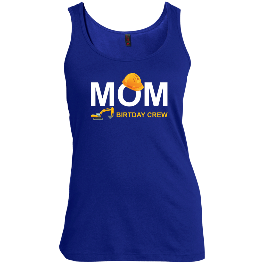 Mom-Birthday-Crew-For-Construction-Birthday-Party-Women's-Tank-Top-Warm-Grey-XS-