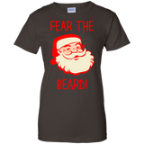 Fear-The-Beard-Funny-Christmas-Santa-Men/Women-T-shirt-Unisex-T-Shirt-Black-S