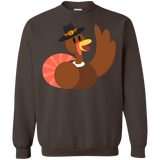 thanksgiving-day,-turkey,-funny,-fun,-cute-Pullover-Sweatshirt-8-oz-White-S-