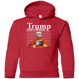 Donald-Trump-For-Prison-Police-Mugshot-Funny-Youth-Pullover-Hoodie-Black-YS-