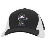 Mid-Profile-Colorblock-Hat-White/Black-One-Size-