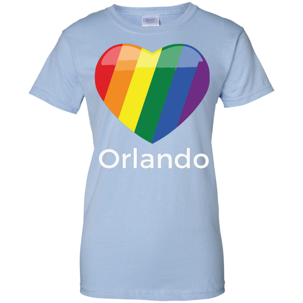 Love-orlando-Ladies-Custom-100%-Cotton-T-Shirt-Sport-Grey-XS-