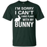 Sorry-I-Can't-I-Have-Plans-With-My-Bunny-Pet-Lover-T-Shirt---Teeever.com-Black-S-