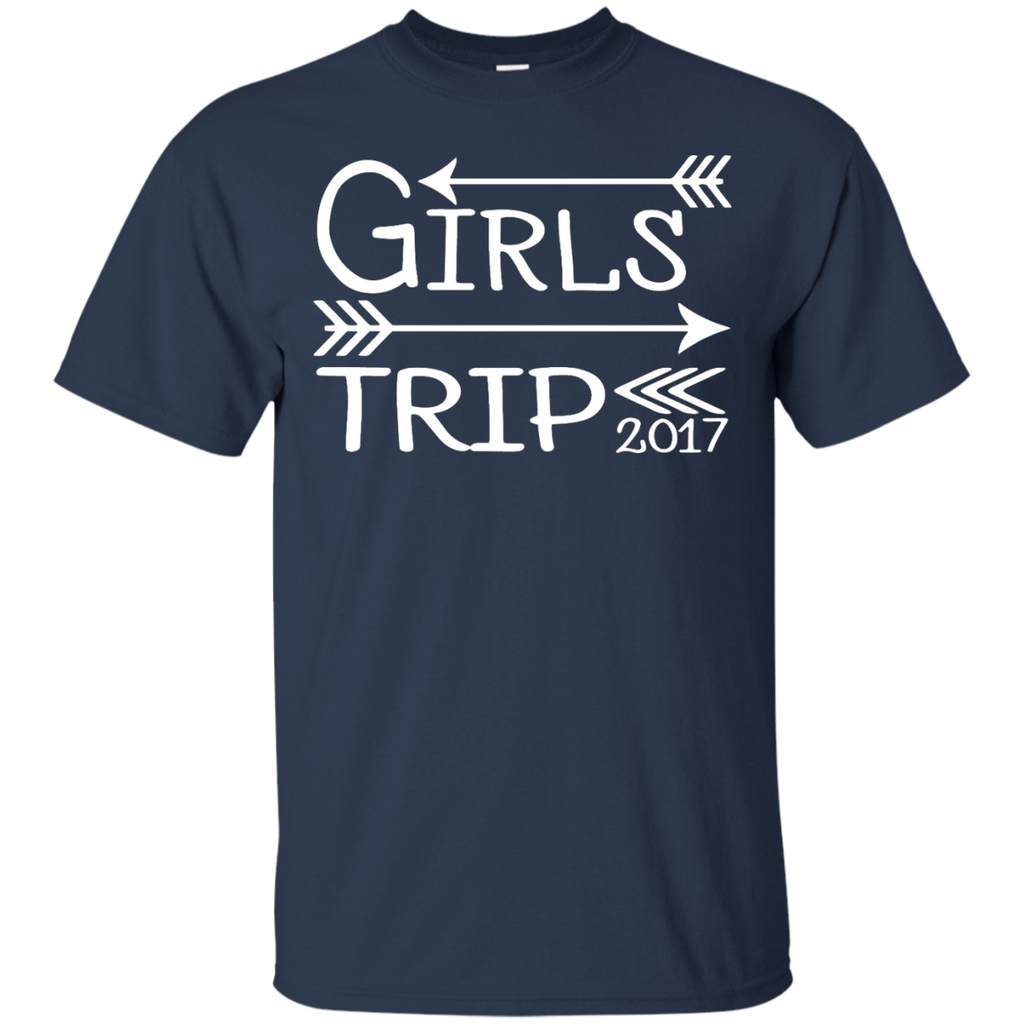 Girls-Trip-2017---Weekend-Getaway-Bachelorette---Men/Women-T-Shirt-Custom-Ultra-Cotton-T-Shirt-Black-S