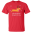 Dachshund-through-the-snow-Christmas-T-Shirt-Black-S-