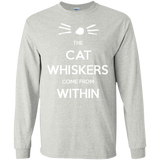 The-Cat-Whiskers-Come-From-Within---Dan-and-Phil-Tshirt-Ash-S-