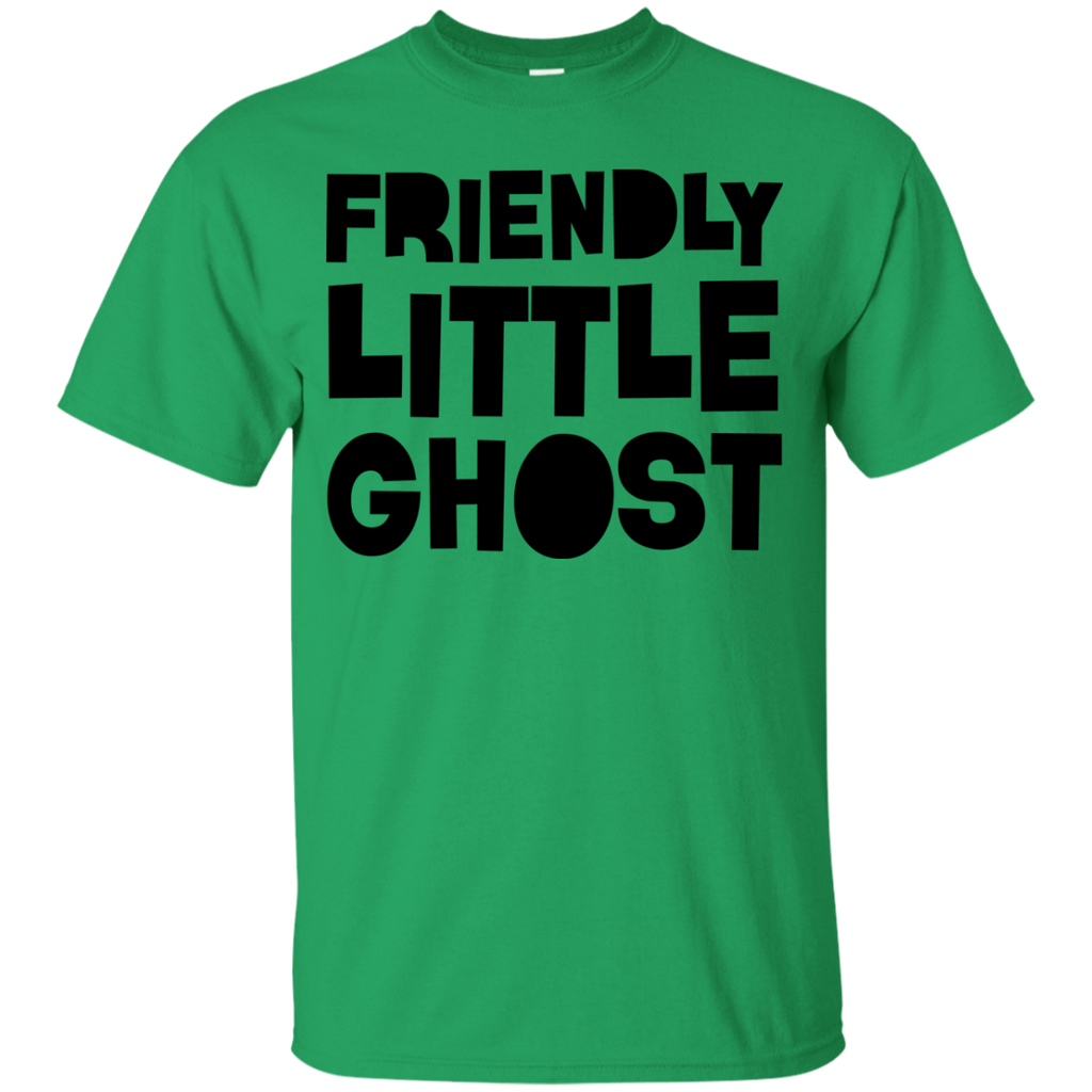 Ghost---Halloween-Youth-Custom-Ultra-Cotton-Tee-White-YXS-
