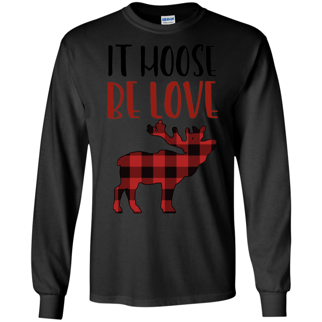It-Moose-Be-Love|-Funny-Plaid-Moose-Valentines-Gift-Shirt-LS-T-Shirt-Sport-Grey-S-