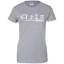 Delicious-Ladies-Custom-100%-Cotton-T-Shirt-Sport-Grey-XS-