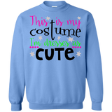 I'm-so-cute-.-Halloween---this-is-my-halloween-costume-Pullover-Sweatshirt-Sport-Grey-S-