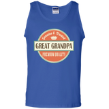Great-Grandpa-100%-Cotton-Tank-Top-Ash-S-