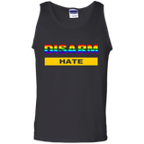 Disarm-hate-100%-Cotton-Tank-Top-Black-S-