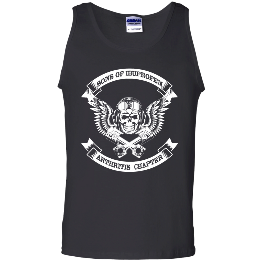 Sons-of-ibuprofen-arthritis-chapter-100%-Cotton-Tank-Top-Ash-S-