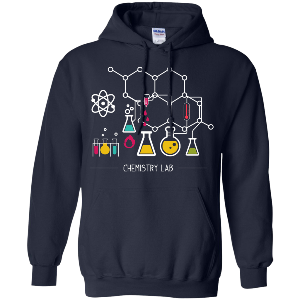 Science-laboratory-illustration---Long-Sleeve-LS,-Sweatshirt,-Hoodie-LS-Ultra-Cotton-Tshirt-Black-S