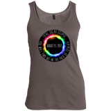 Total-Solar-Eclipse-Women's-Tank-Top-Warm-Grey-XS-
