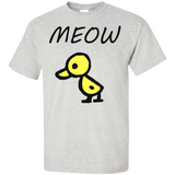 Meow-the-Duck-T-Shirt-Ash-S-