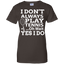 I-Don't-Always-Play-Tennis---Men/Women-T-Shirt-Custom-Ultra-Cotton-T-Shirt-Black-S