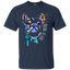Bulldog-is-love---Dog-is-love---Men/Women-T-Shirt-Custom-Ultra-Cotton-T-Shirt-Black-S