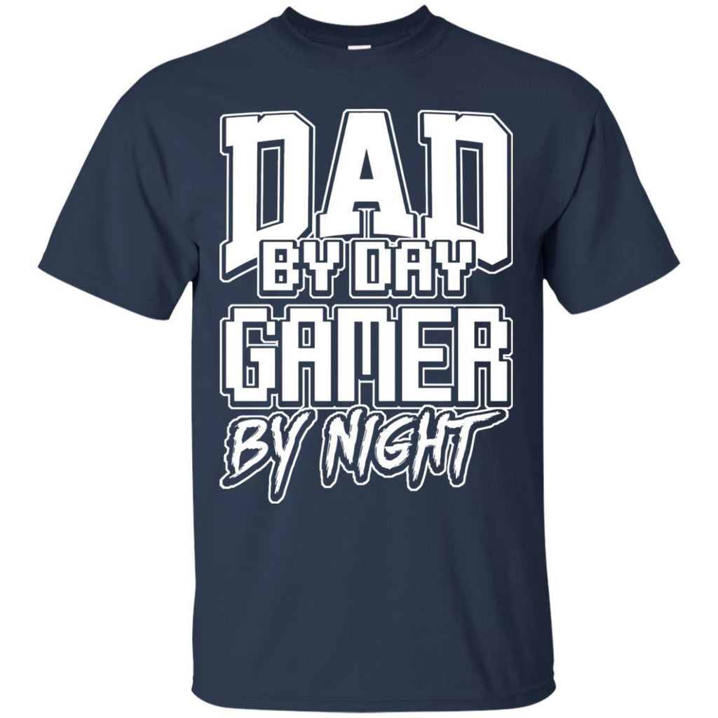 Gamer-Dad-Fathers-Day-Video-Computer-Games---Gift-Men-T-Shirt-Black-S-