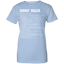 Gibb's-Rulles-Ladies-Custom-100%-Cotton-T-Shirt-Sport-Grey-XS-