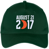 2017-US-Solar-Eclipse-Path-of-Totality.-Five-Panel-Twill-Cap-Black-One-Size-