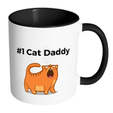 #1 Cat Daddy - Mugs - Father's Day Gift Idea