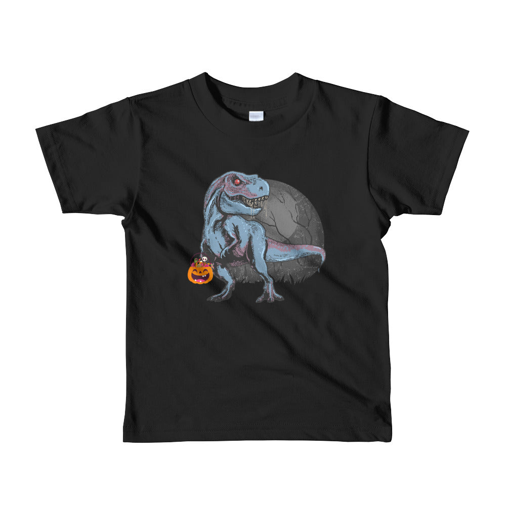 Halloweem Gift for Boys Kids Dinosaur T Rex Mummy Pumpkin kids t-shirt