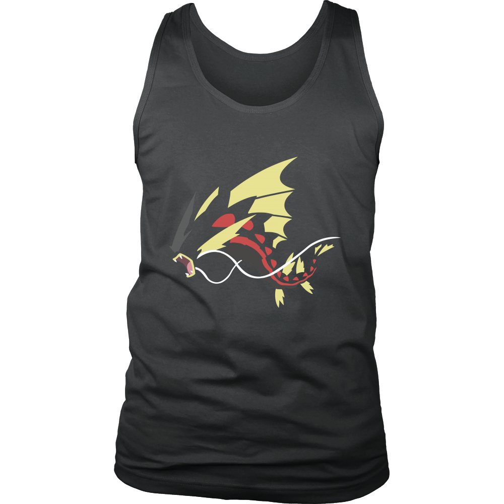 Pokemonster-gyarados---Kids,-Men,-Women's-Shirt,-Tank-Top,-Hoodie-District-Unisex-Shirt-Royal-Blue-S